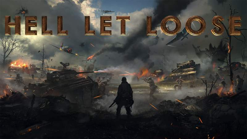 50v50 WWII FPS 'Hell Let Loose' Unveils New Gameplay Trailer