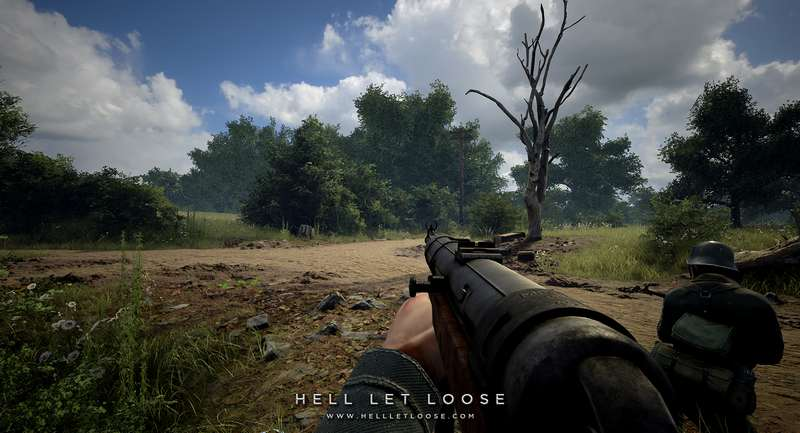 50v50 WWII FPS 'Hell Let Loose' Releases New Trailer
