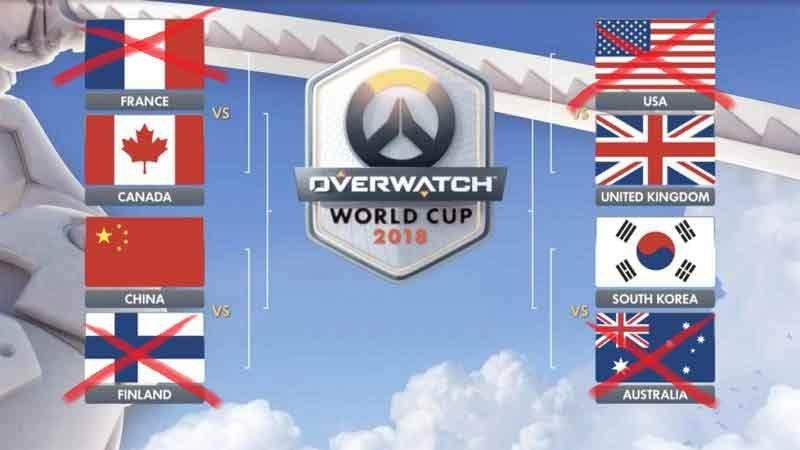 Underdog UK Team Defeats US in Overwatch World Cup Playoffs