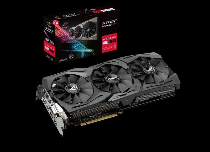 ASUS Introduces the ROG Strix Radeon RX 590 Video Card