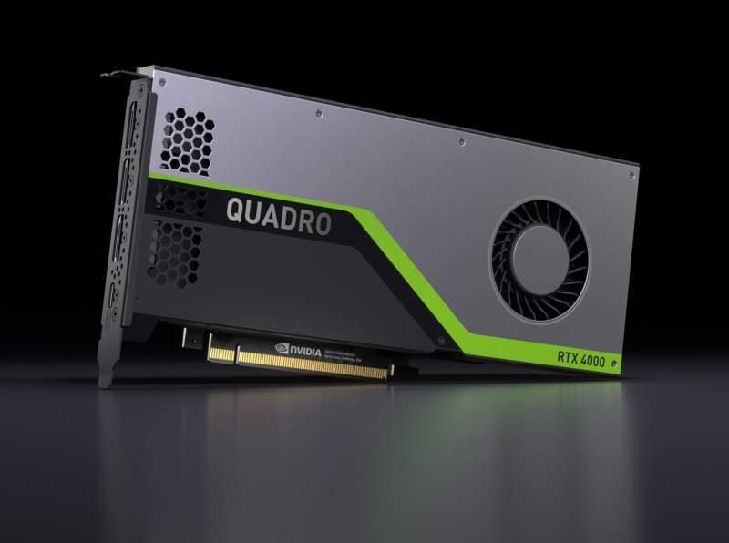 NVIDIA Launches the Quadro RTX 4000 Workstation Card