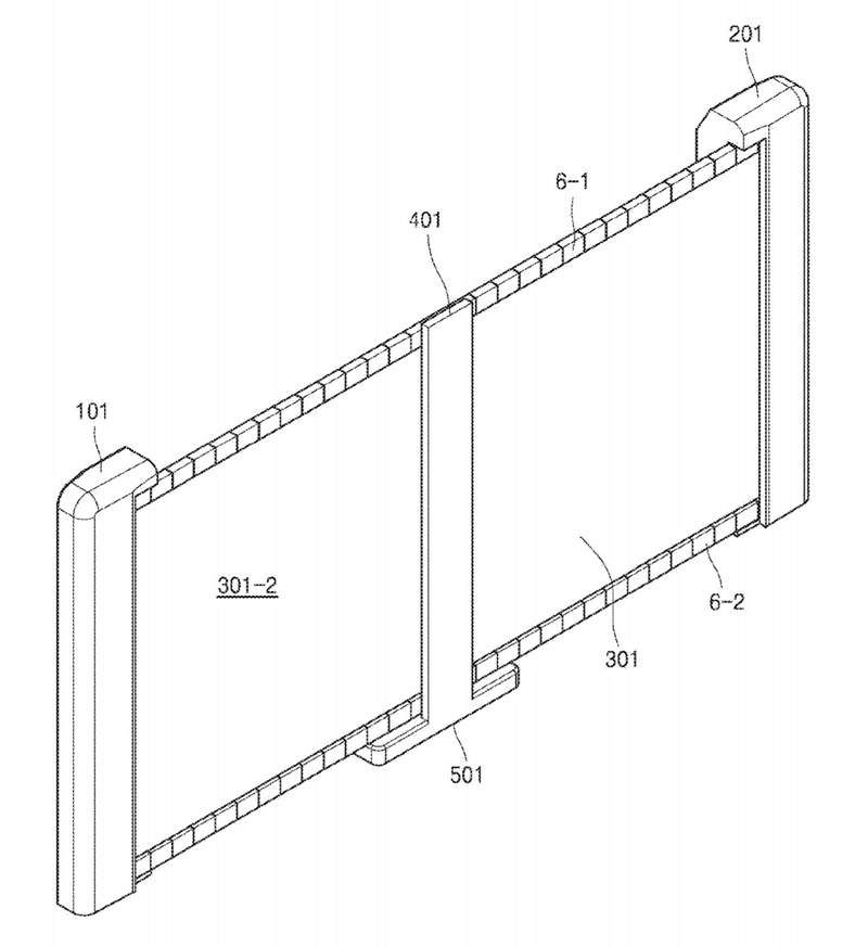 Samsung Patents Rollable OLED Television Screen