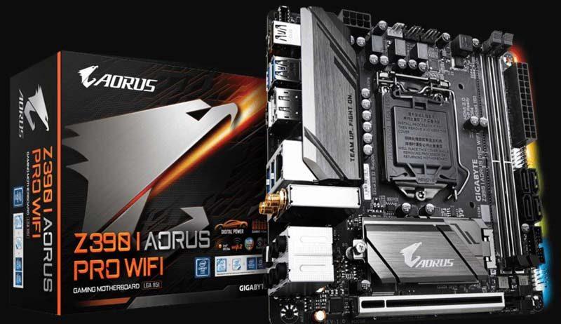 Aorus Z390-I Mini-ITX Motherboard Review