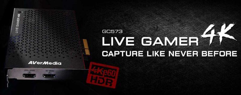 AverMedia GC573 Live Gamer 4K HDR Capture Card Review