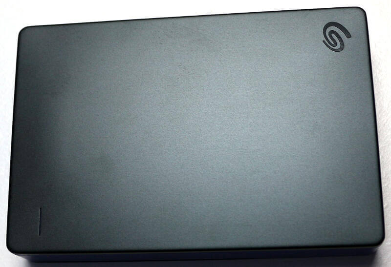 Seagate Game Drive for PS4 4TB Photo view top