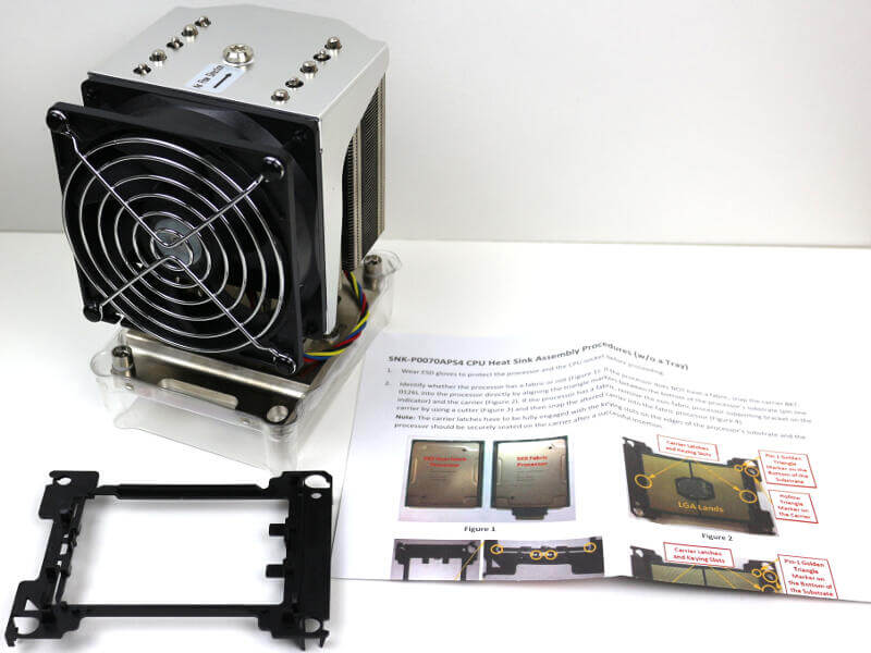Supermicro SNK-P0070APS4 Photo box content