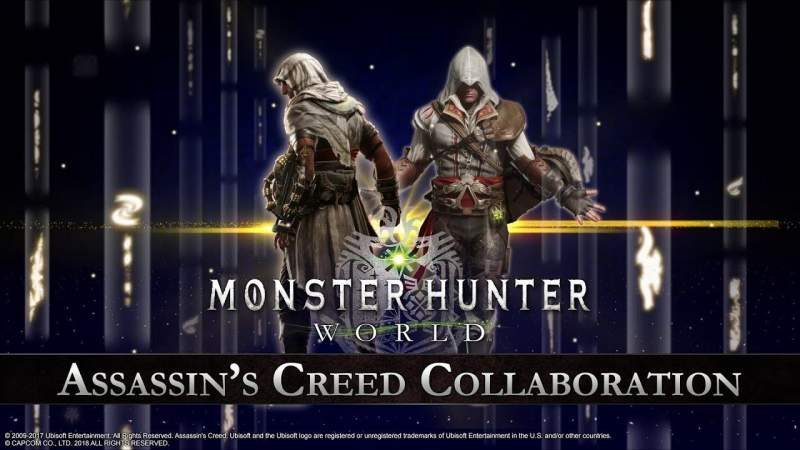 Assassin's Creed Crosses Over in to Monster Hunter: World
