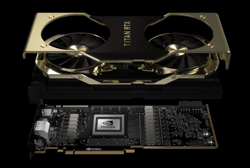 TITAN RTX Video Card Now Available on NVIDIA's Website