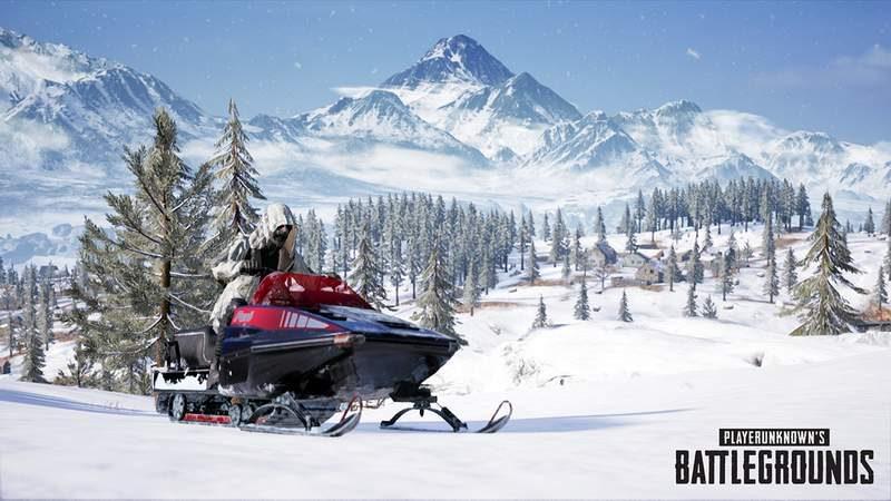 PUBG's New Vikendi Snow Map Launches December 19