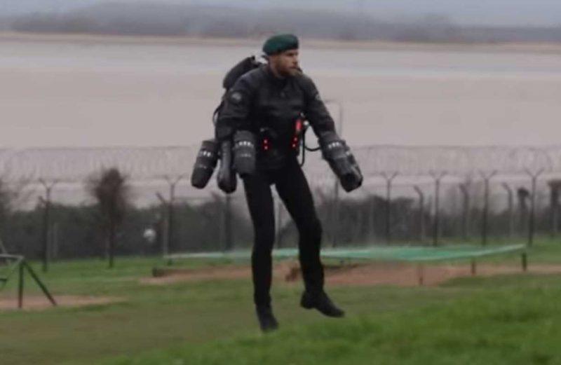 jet suit royal marine