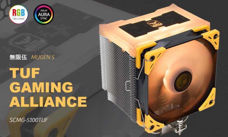 Scythe Mugen 5 TUF Gaming Alliance Cooler Review