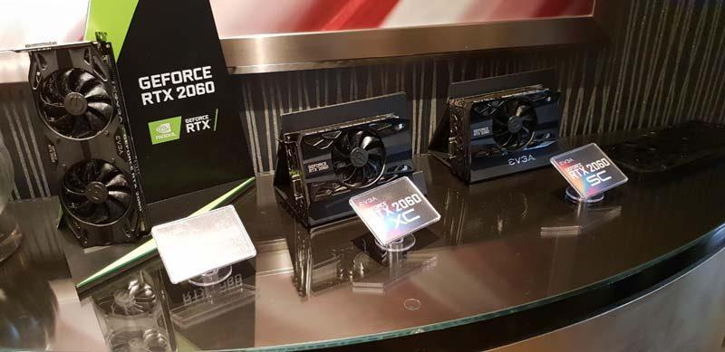 EVGA RTX 2060 & Z390 Dark at CES 2019