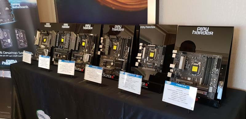 Supermicro Show Off Their Latest Motherboards and Systems