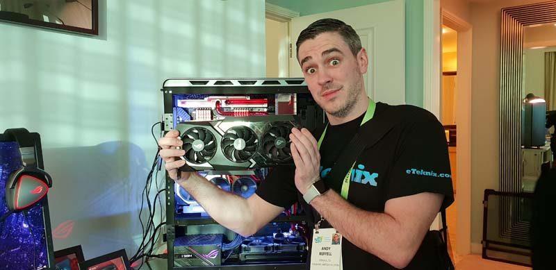 ASUS MATRIX RTX 2080 Ti Air and Liquid Cooled GPU Hands On