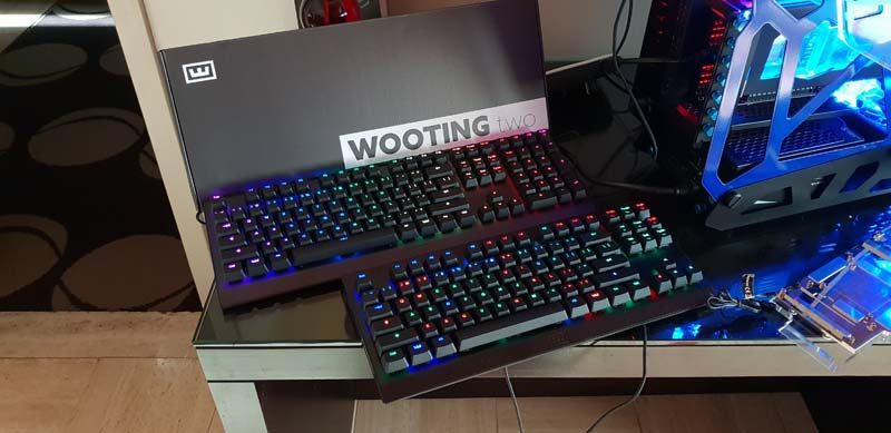 Wooting Two Analogue Keyboards Displayed at CES 2019