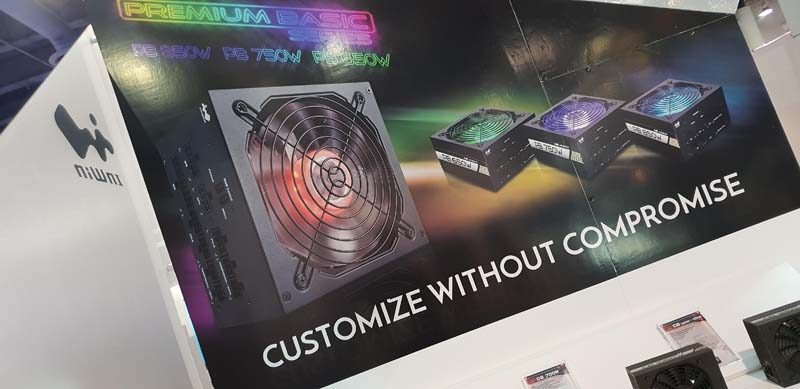 InWin Unleash Crown Fans and PSUs at CES 2019