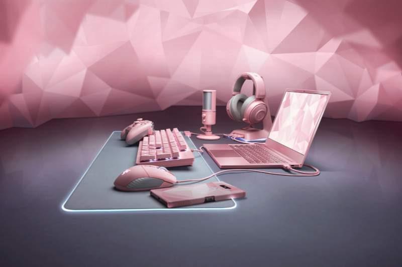 Razer Expands Quartz Pink Family Product Line