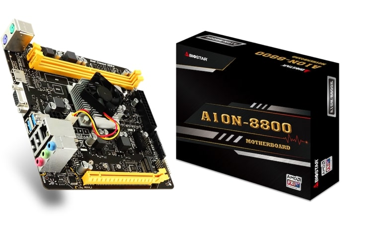 Biostar Launches the A10N-8800E SoC Motherboard