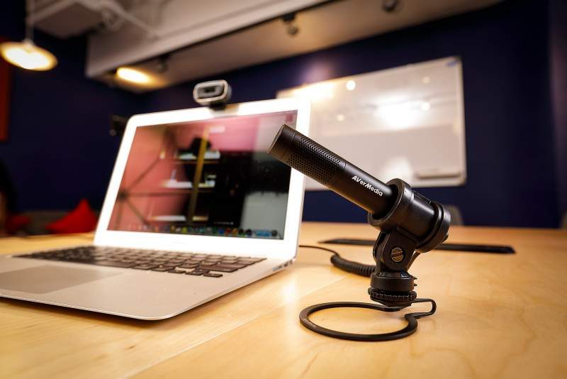 AVERMedia Live Streamer MIC 133 Microphone Now Available