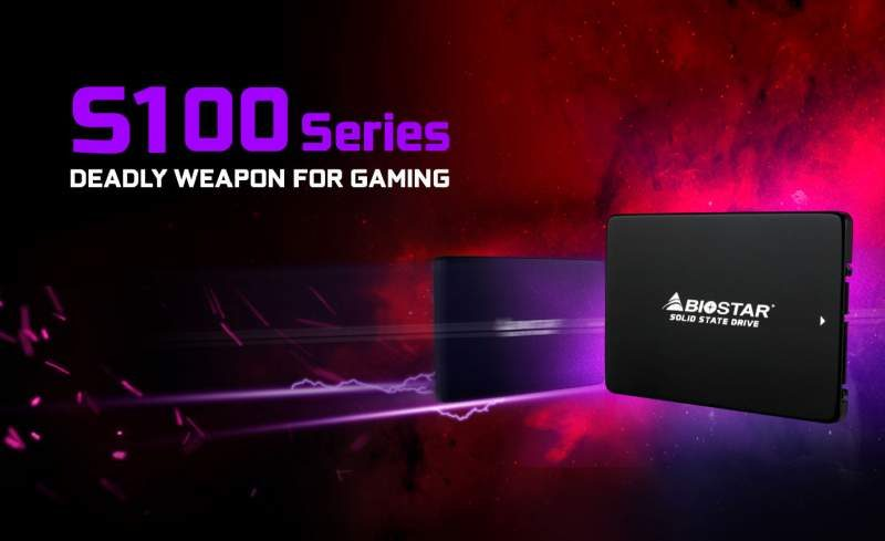 Biostar Launches the S100 Plus SSD Series
