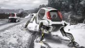 "Hyundai Shows off ""Project Elevate"" Walking Car Concept"