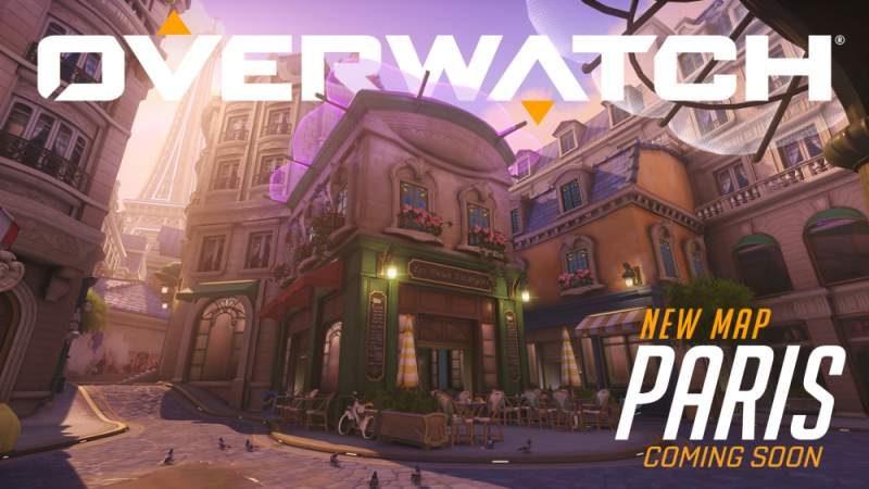Blizzard Surprises Overwatch Fans with New Paris Assault Map