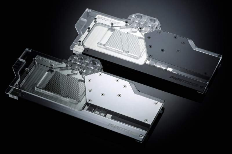 Phanteks Debuts Glacier RTX Waterblocks for ASUS and Gigabyte