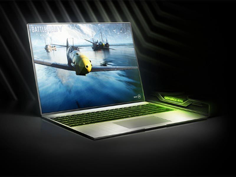 Gaming Laptops with GeForce RTX GPU Starts Shipping