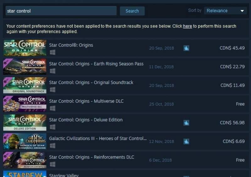 Stardock's Star Control Origins Returns to Steam