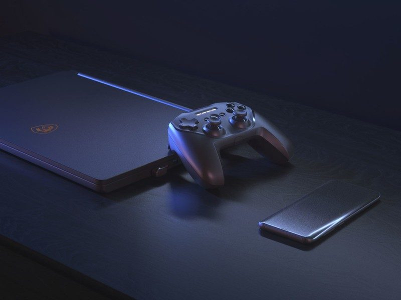 SteelSeries Stratus Duo Wireless Controller Launched