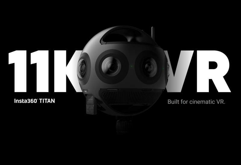 Insta360 Unveils 'TITAN' – An 11K VR 3D Camera for $15,000