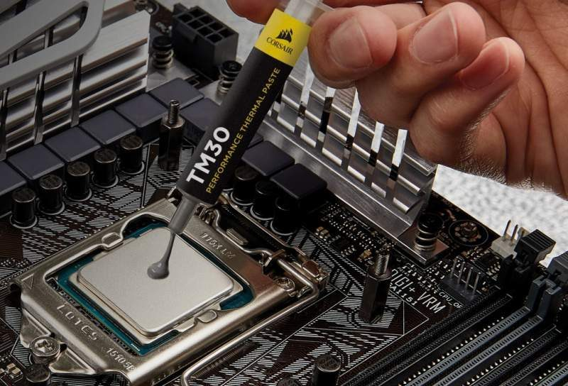 Corsair TM30 Performance Thermal Paste Now Available