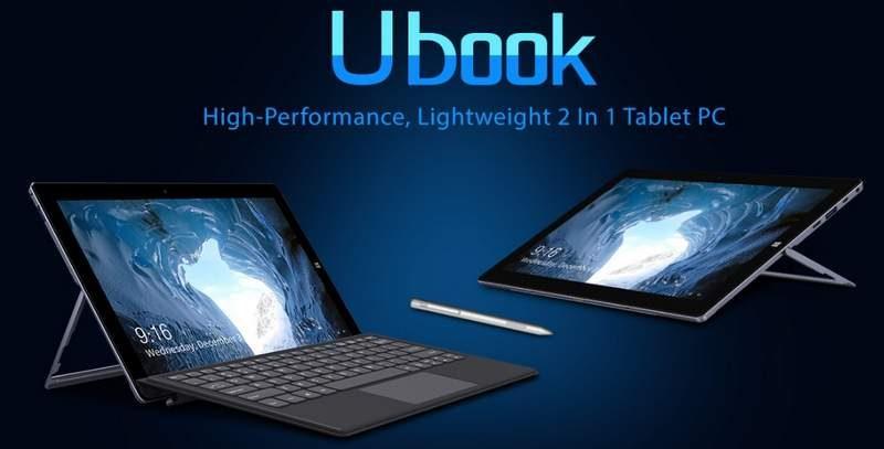 Chuwi Announces UBook Tablet – Budget Surface Go Alternative