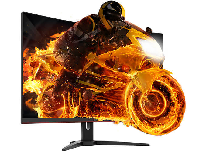 Feature Packed AOC CQ32G1 Gaming Monitor Revealed