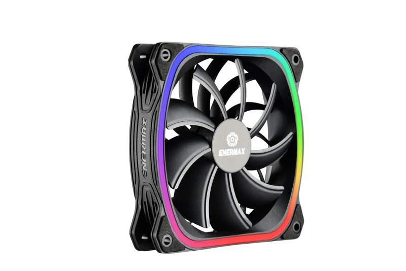 Enermax Introduces the SquA RGB Fan Series