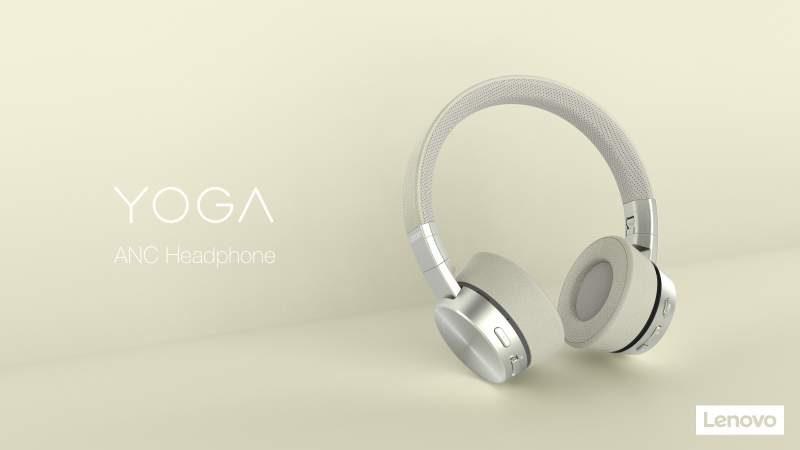 Lenovo Unveils Pair of Active Noise-Cancelling Headphones