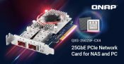 QNAP Introduces 25GbE Dual-Port Network Expansion Card