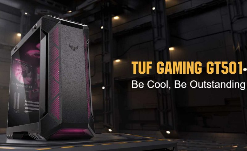 ASUS TUF Gaming GT501 E-ATX Gaming Chassis Review