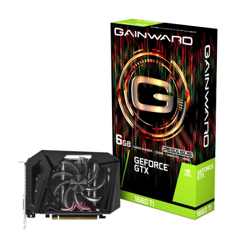 Gainward Unveils the Compact GeForce GTX 1660 Ti Pegasus
