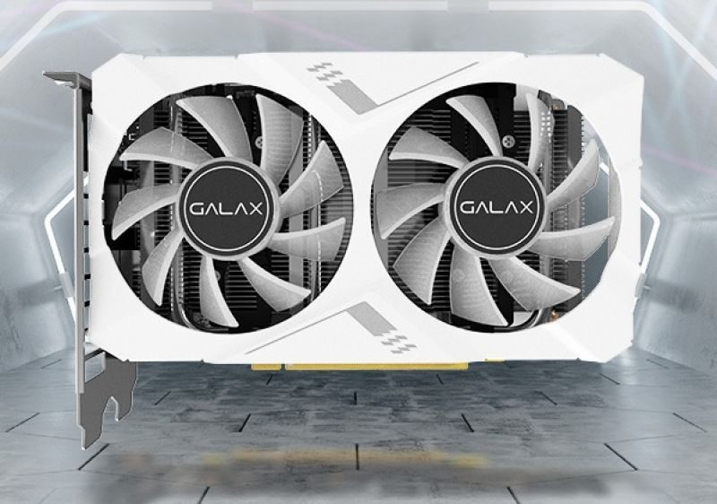 GALAX GTX 1660 Ti White Mini