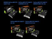 Gigabyte Offers Five Different GeForce GTX 1660 Ti Options