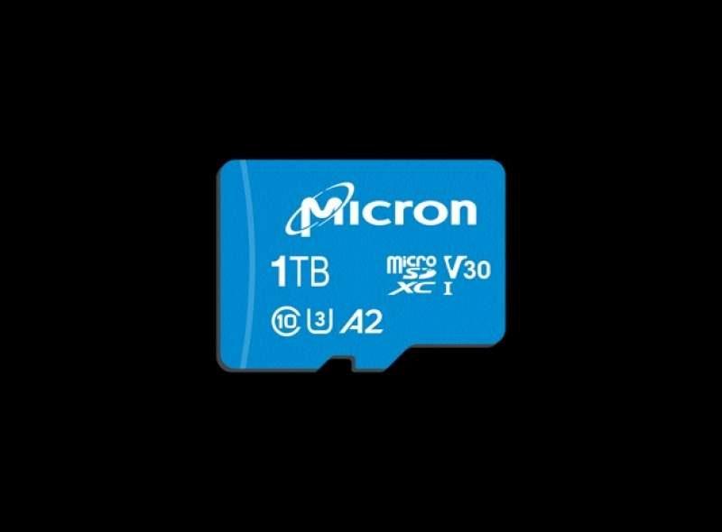 Micron Announces c200 1TB MicroSDXC UHS-I Card