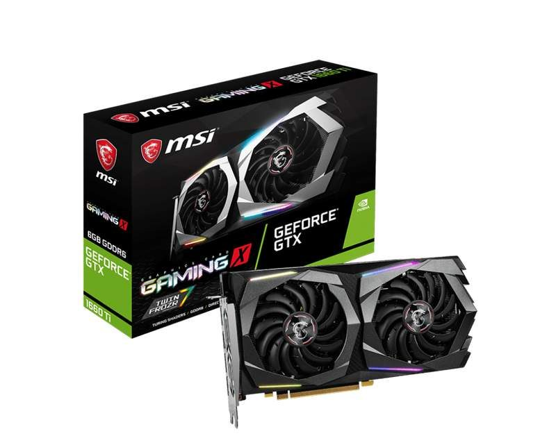 MSI Launches Initial Four GeForce GTX 1660 Ti Graphics Cards