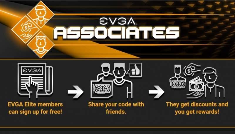 Get Discounts and Rewards with New EVGA Associates Program