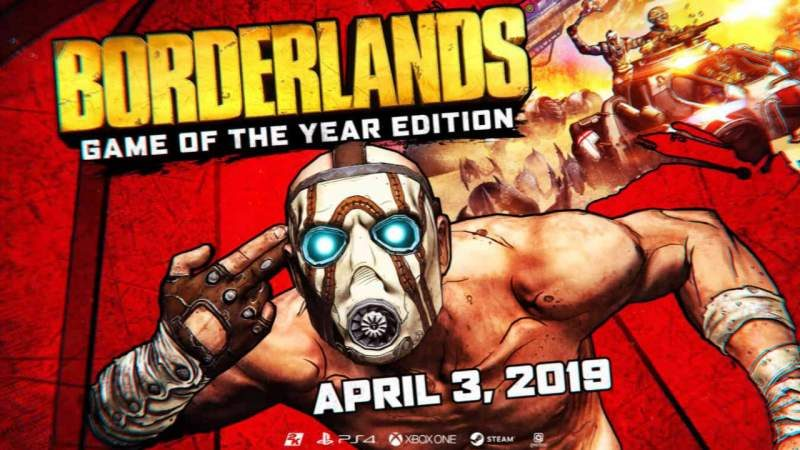 Owners of Original Borderlands Game Getting Free GOTY Remaster
