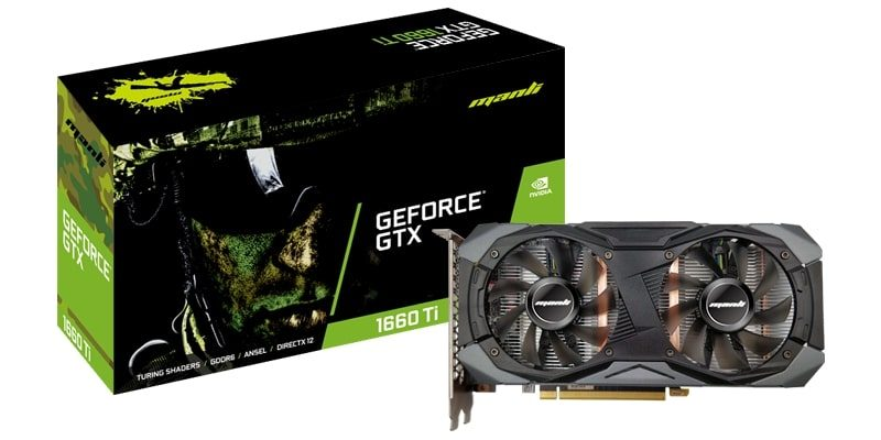 GTX 1660 Ti with Twin Cooler package
