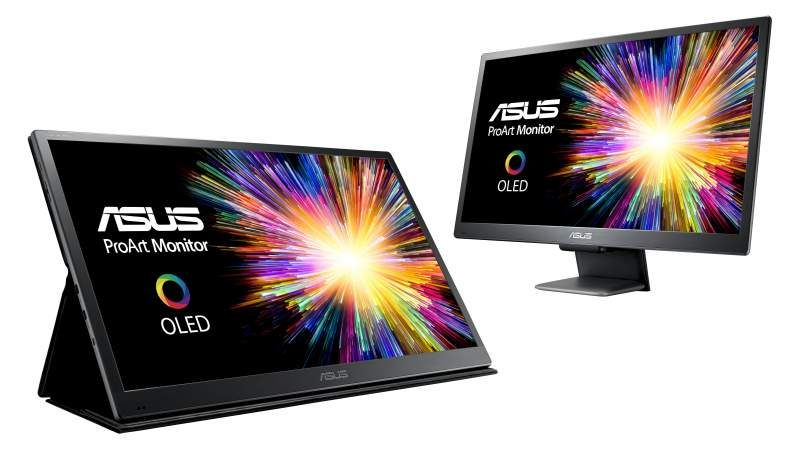 ASUS ProArt PQ22UC OLED 4K HDR Professional Monitor Announced