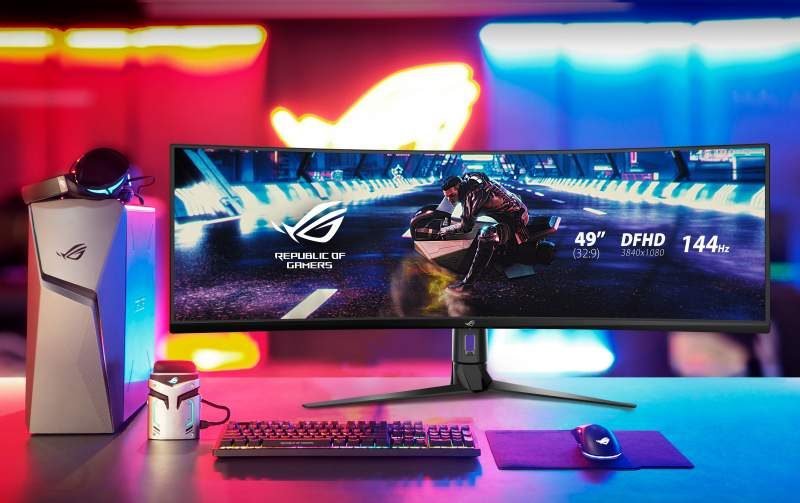 "ASUS Launches the Strix XG49VQ  49"" 32:9 HDR Gaming Monitor"