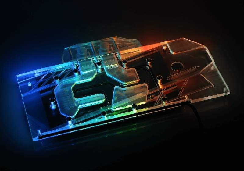 Bykski GPU Waterblock with RGB for Radeon VII Now Available