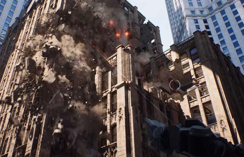 Epic Games Flex Next-Gen Destruction in Unreal Engine 4.23